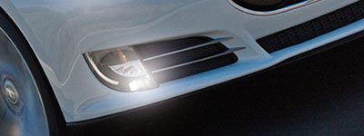 Automotive lighting and LED solutions for front-fog lighting.