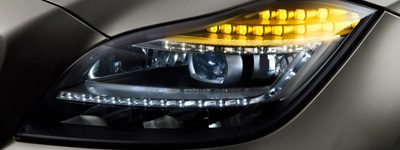 Front turn signal automotive lighting and LED solutions.